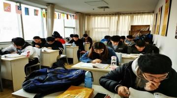 樱花日语学校中级班开课